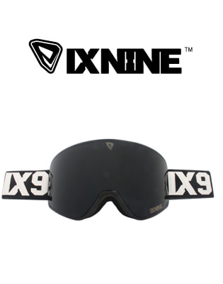 IXNUNE_IX3 Shoe Black  Dark Grey 스노우보드용 고글