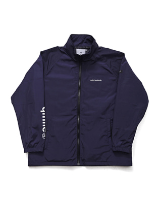 큐마일 SLEEVE BIG  LOGO JACKET 보드복자켓 NAVY