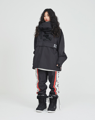 1819 windbreaker savior jacket black / 88 세이버 자켓 블랙