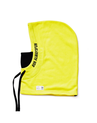 1819 BSR ALWAYSFUN HOODWARMER FLUORESCENT YELLOW