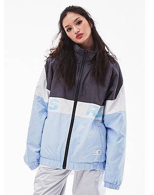 1819 BSRABBIT BSRB TRACK JACKET SKYBLUE