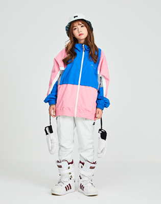 DIMITO 1819 CAMP JACKET BABY PINK 디미토 캠프자켓
