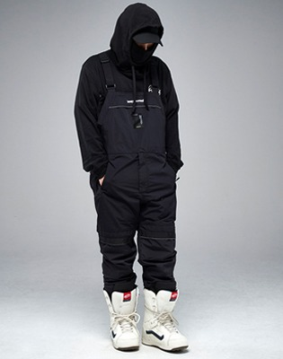 바운드 1819 MOUNTAIN BIB PANTS BLACK 블랙