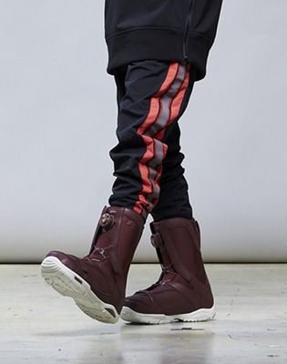 1819 YOBEAT/요비트 팬츠 ENVY BASIC PANT-L.RED