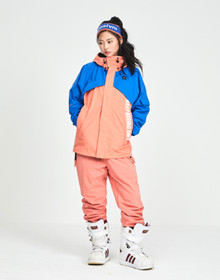 DIMITO 1819 NORI JACKET PEACH/ROYAL BLUE