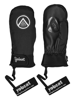 1819 YOBEAT CIRCLE GLOVES 요비트 서클 글러브 BLACK