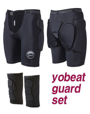 요비트 보호대 세트 YOBEAT TORR PROTECT SET BLACK