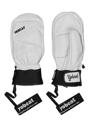1819 YOBEAT UPPER LEATHER GLOVES 요비트 WHITE