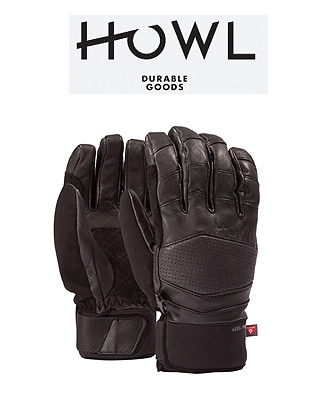 HOWL 18/19  HOUSTON GLOVE BLACK 하울 보드장갑