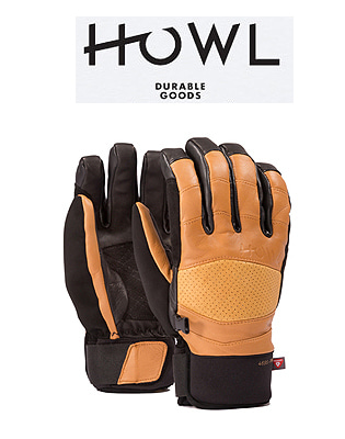 HOWL 18/19  HOUSTON GLOVE BROWN 하울 보드장갑