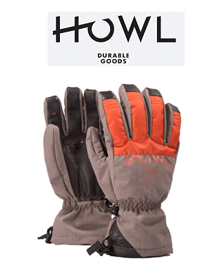 HOWL 18/19  TEAM GLOVE ORANGE 하울 보드장갑
