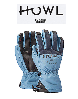 HOWL 18/19  TEAM GLOVE BLUE 하울 보드장갑
