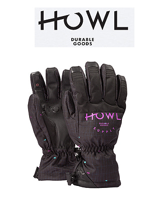 HOWL 18/19  TEAM GLOVE BLACK 하울 보드장갑
