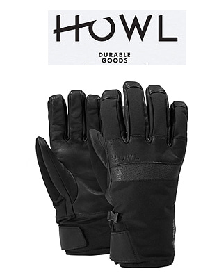HOWL 18/19  TIGER GLOVE BLACK 하울 보드장갑
