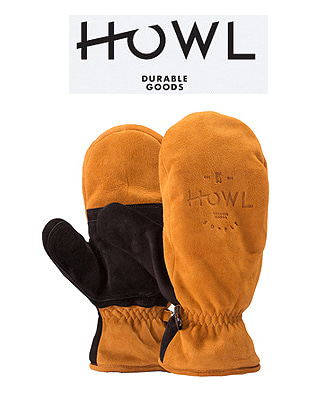 HOWL 18/19  HIGHLAND MITT BROWN 하울 보드장갑