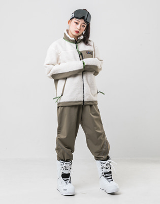 19/20 DIMITO AIR FORCE PANTS BEIGE 라인조거 남자여성공용 스노우보드복 팬츠