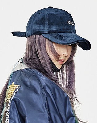 1920 비에스래빗 BSR VELOUR CAP NAVY