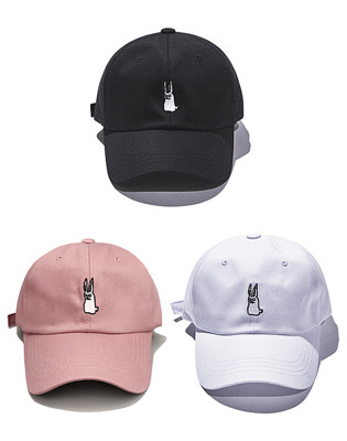 비에스래빗 GR OPEN ZIPPER CAP 3colors
