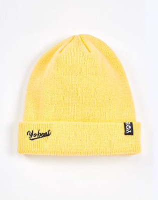 1920 요비트 RIVER SIDE BEANIE LIGHT YELLOW 비니