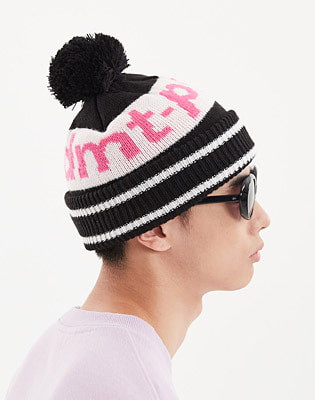 1920 DIMITO LINE BALL KNIT BEANIE BLACK 스노우보드복 니트비니