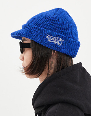1920 DIMITO VISOR KNIT BEANIE ROYAL BLUE 스노우보드복 니트비니