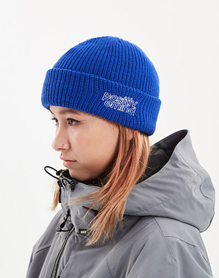 1920 DIMITO DMT KNIT BEANIE ROYAL BLUE 스노우보드복 니트비니