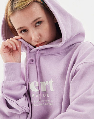1920 VERT SEOUL HOODIE LIGHT PURPLE 스노우보드복 후드
