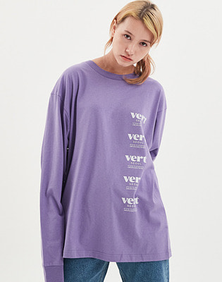 1920 VERT SEOUL LONG SLEEVE PURPLE 스노우보드복 맨투맨