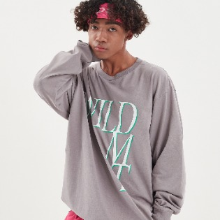 1920 DIMITO WILD LONG SLEEVE GREY 스노우보드복 맨투맨