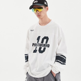 1920 DIMITO 10th LONG SLEEVE WHITE 스노우보드복 맨투맨