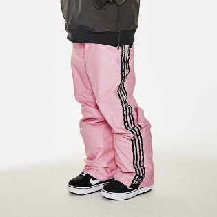 1920 비에스래빗 DOUBLE LINE TAPE TRACK PANTS PINK