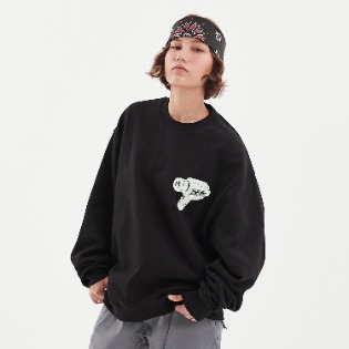 1920 DIMITO AIM SWEATSHIRTS BLACK 스노우보드복 맨투맨