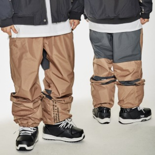 1920 비에스래빗 BSR ACTIVE JOGGER PANTS BROWN