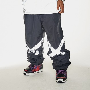 1920 비에스래빗 POT-X REFLECTIVE JOGGER PANTS BLACK