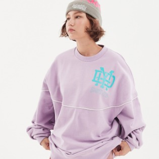 1920 DIMITO NEW LOGO SWEATSHIRTS PURPLE 보드맨투맨