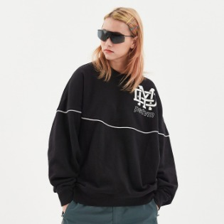1920 DIMITO NEW LOGO SWEATSHIRTS BLACK 보드맨투맨