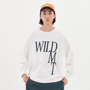 1920 DIMITO WILD LONG SLEEVE WHITE 스노우보드복 맨투맨