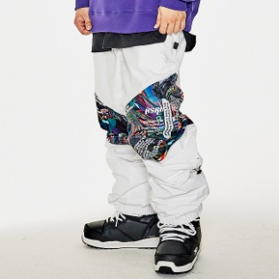 1920 비에스래빗 BSR TRANSFORM BOX MULTI JOGGER PANTS WHITE