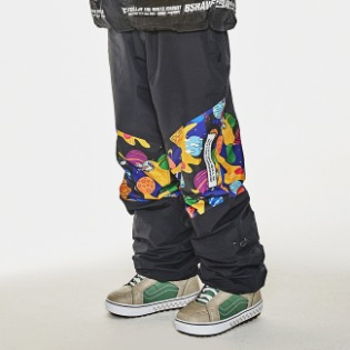 1920 비에스래빗 BSR TRANSFORM BOX MULTI JOGGER PANTS BLACK