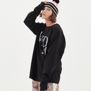 1920 DIMITO WILD LONG SLEEVE BLACK 스노우보드복 맨투맨