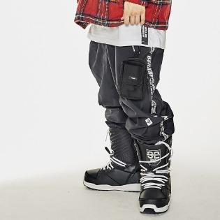 1920 비에스래빗 TAPE SP JOGGER PANTS BLACK