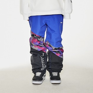 1920 비에스래빗 DIAGONAL BOX JOGGER PANTS PURPLE CAMO