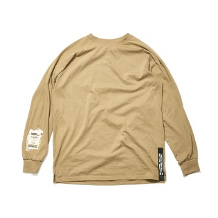 1920 비에스래빗 ALWAYSFUN LONG SLEEVE TEE BEIGE