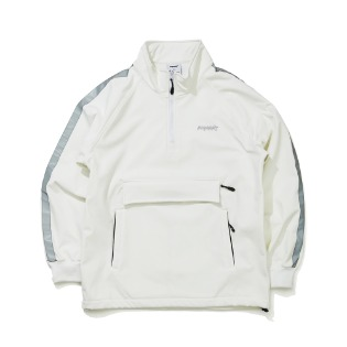 1920 비에스래빗 WATERPROOF LOGO HN ZIPUP WHITE