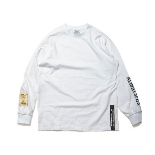 1920 비에스래빗 ALWAYSFUN LONG SLEEVE TEE WHITE