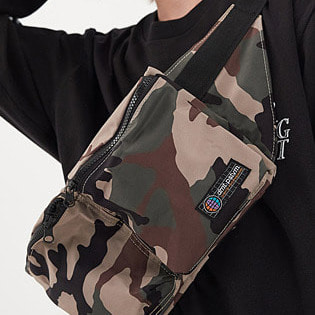 1920 DIMITO DOUBLE POCKET WAIST BAG FROST CAMO