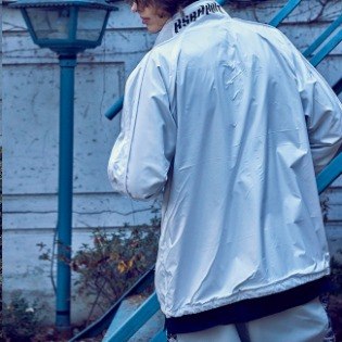 1920 비에스래빗 BSR LIGHT TRACK JACKET WHITE