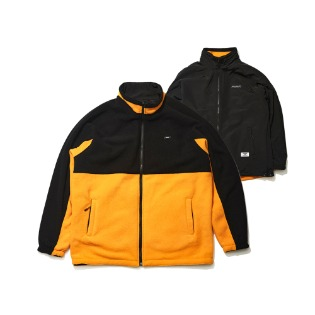 1920 비에스래빗 TOASTY FLEECE REVERSIBLE JACKET BLACK/BLACK