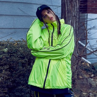 1920 비에스래빗 BSR LIGHT TRACK JACKET FLUORESCENCE