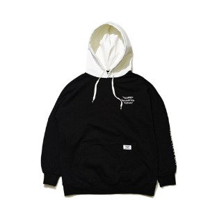 1920 비에스래빗 WELCOME WATERPROOF HOODIE BLACK